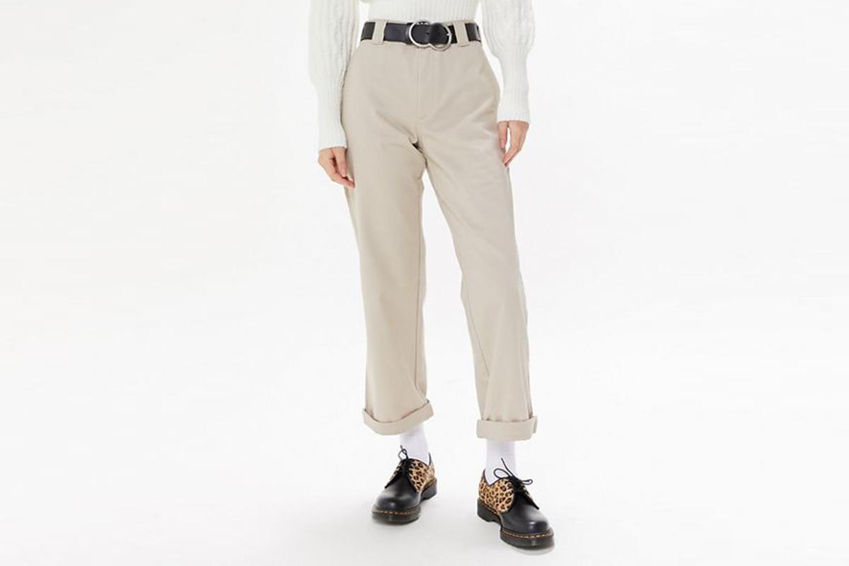 Cuffed Work Pant