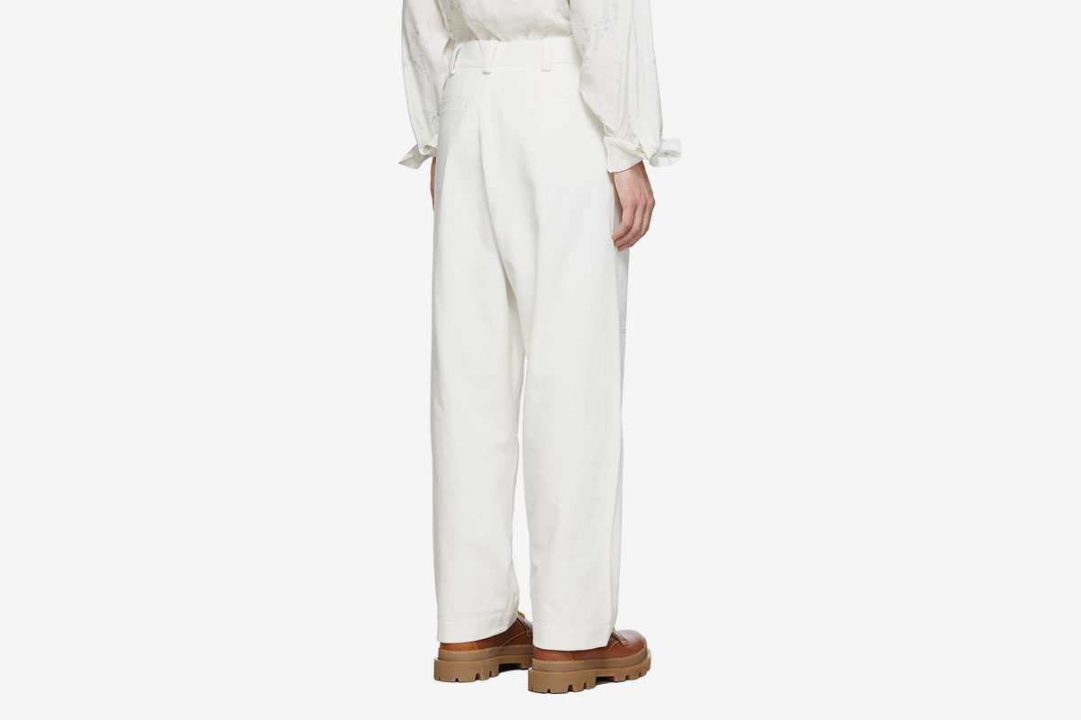 'Le Pantalon Peintre' Trousers