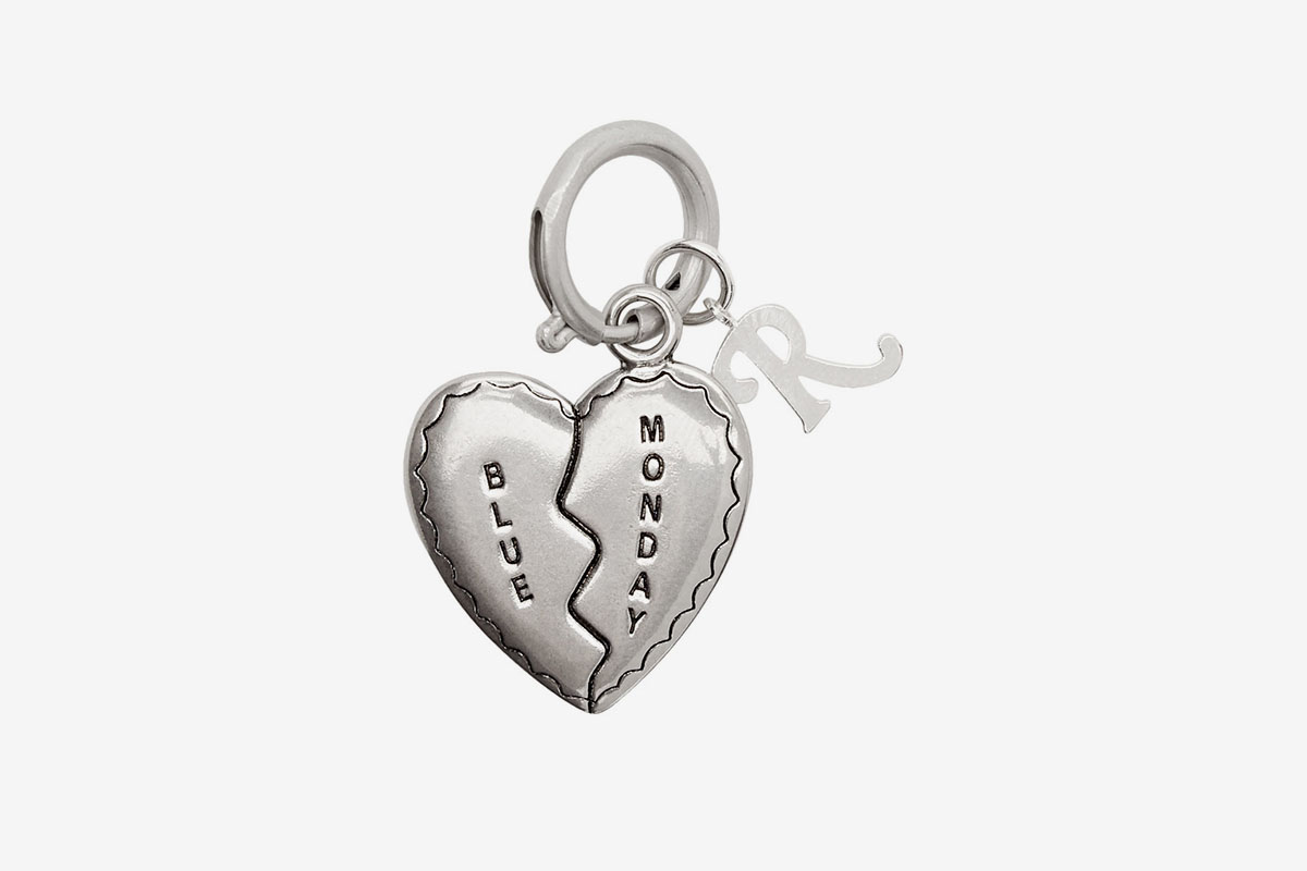 Broken Heart Charm Keychain