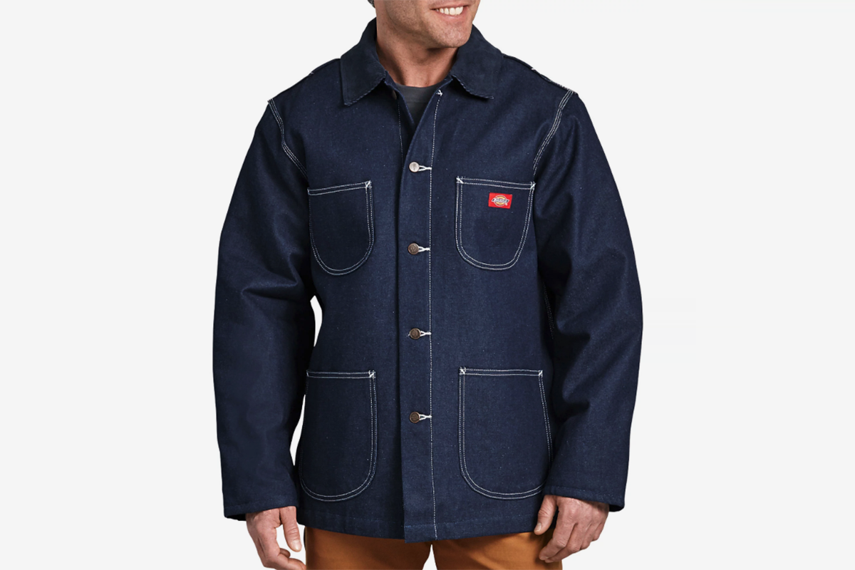 Denim Blanket Lined Chore Coat