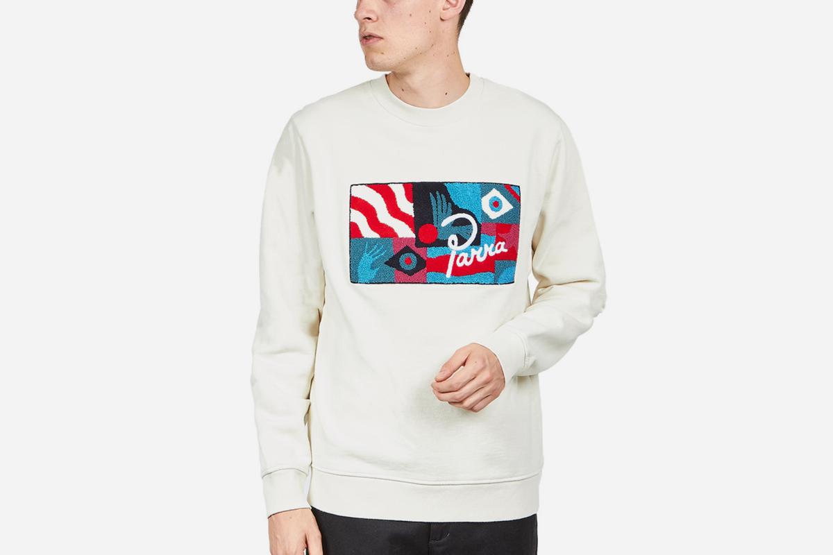 Grab the Flag Crew Neck Sweater