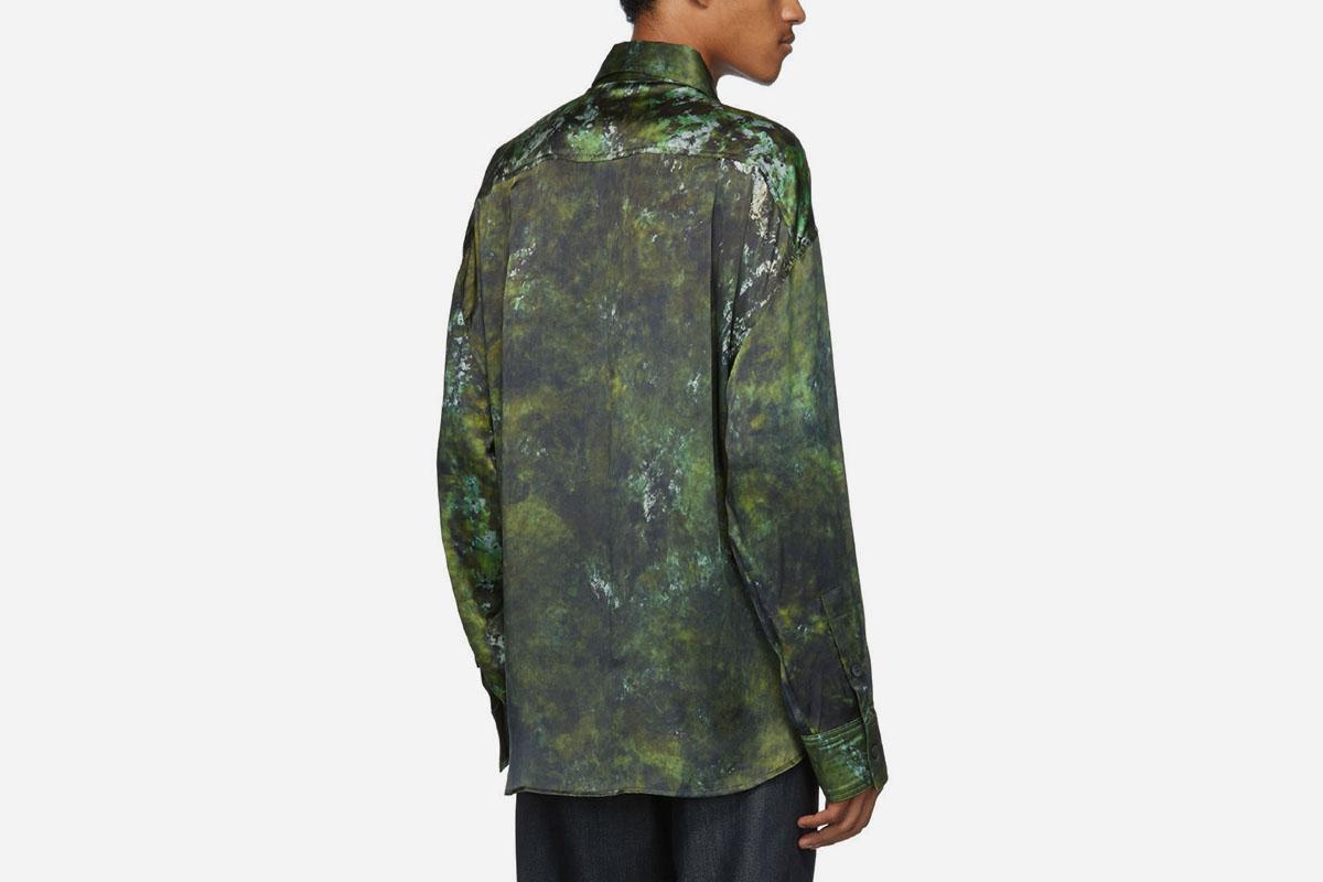 SOTO Hand-Dyed Silk Shirt