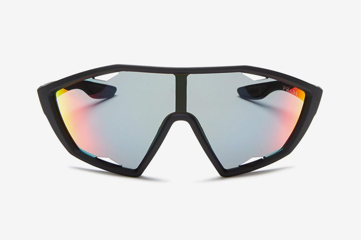 Linea Rossa Mirrored Shield Sunglasses