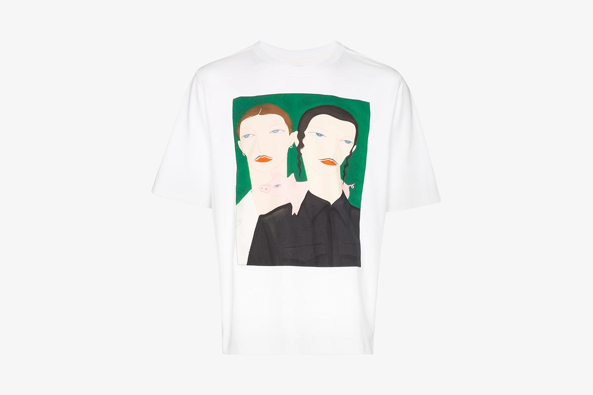 Artist Collaboration Print T-Shirt