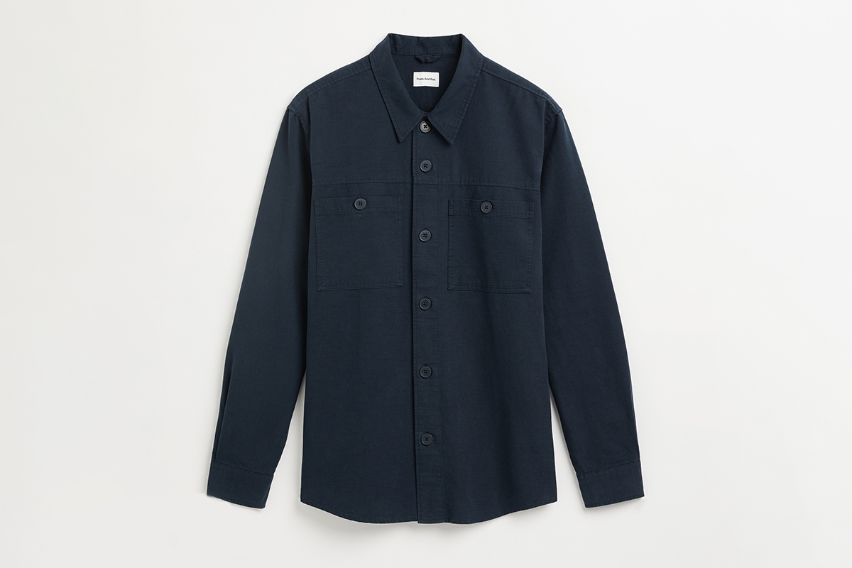 Cotton and Hemp Overshirt