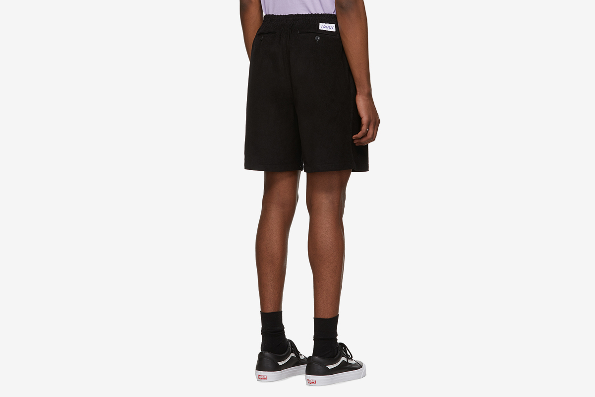 Corduroy Drawstring Shorts