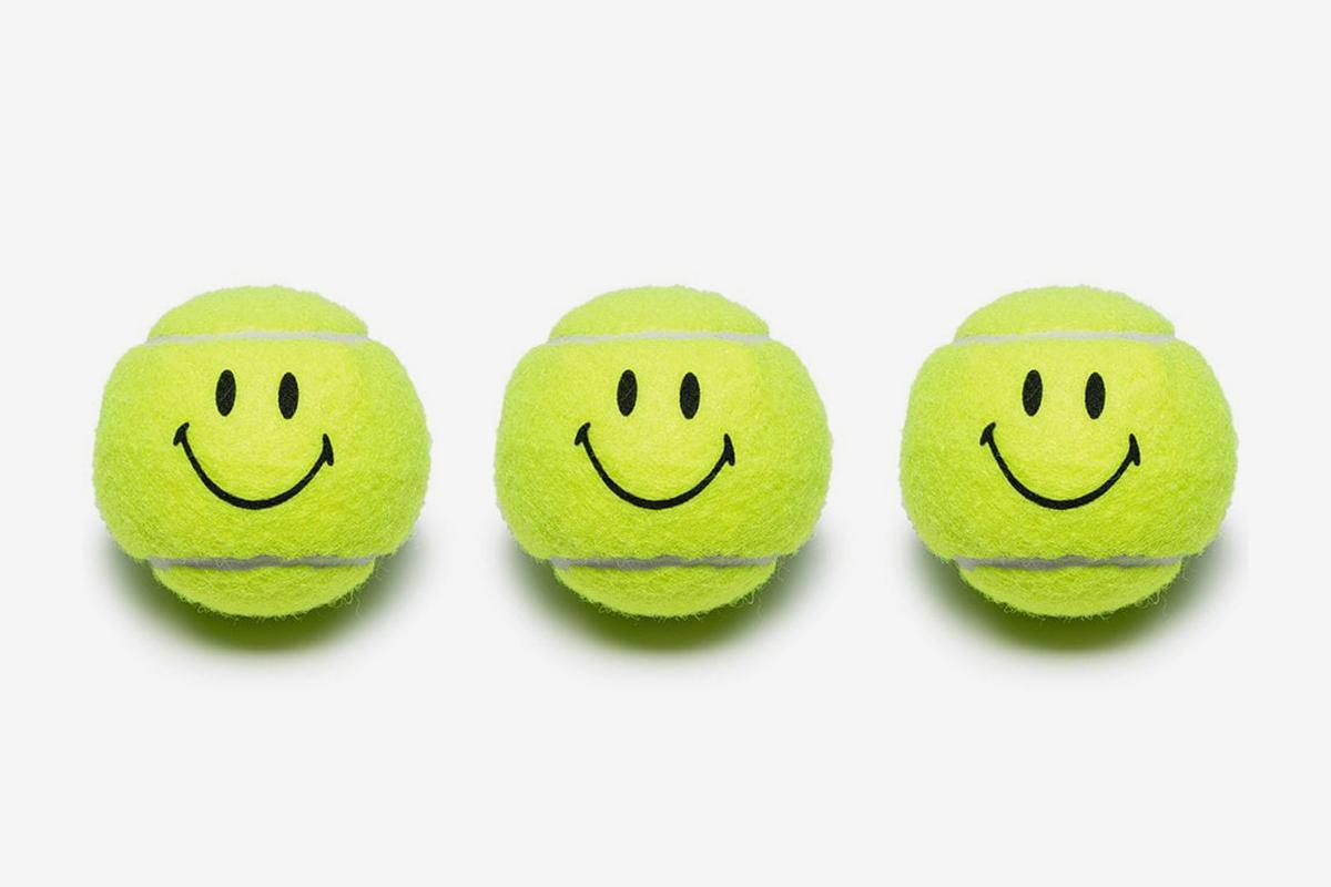 Smiley Face Tennis Ball