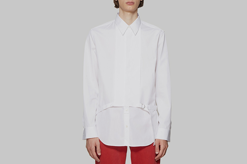 Detachable Placket Shirt