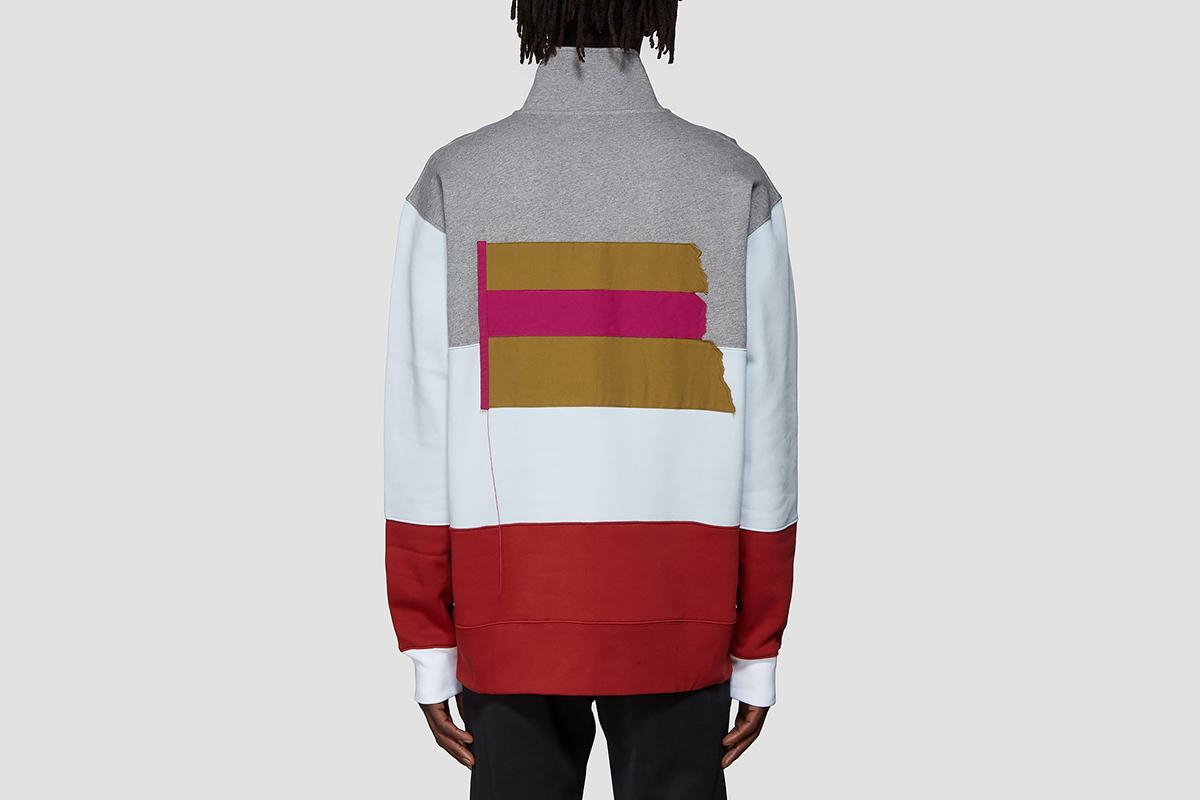 Flint Flag Face Rugby Sweatshirt