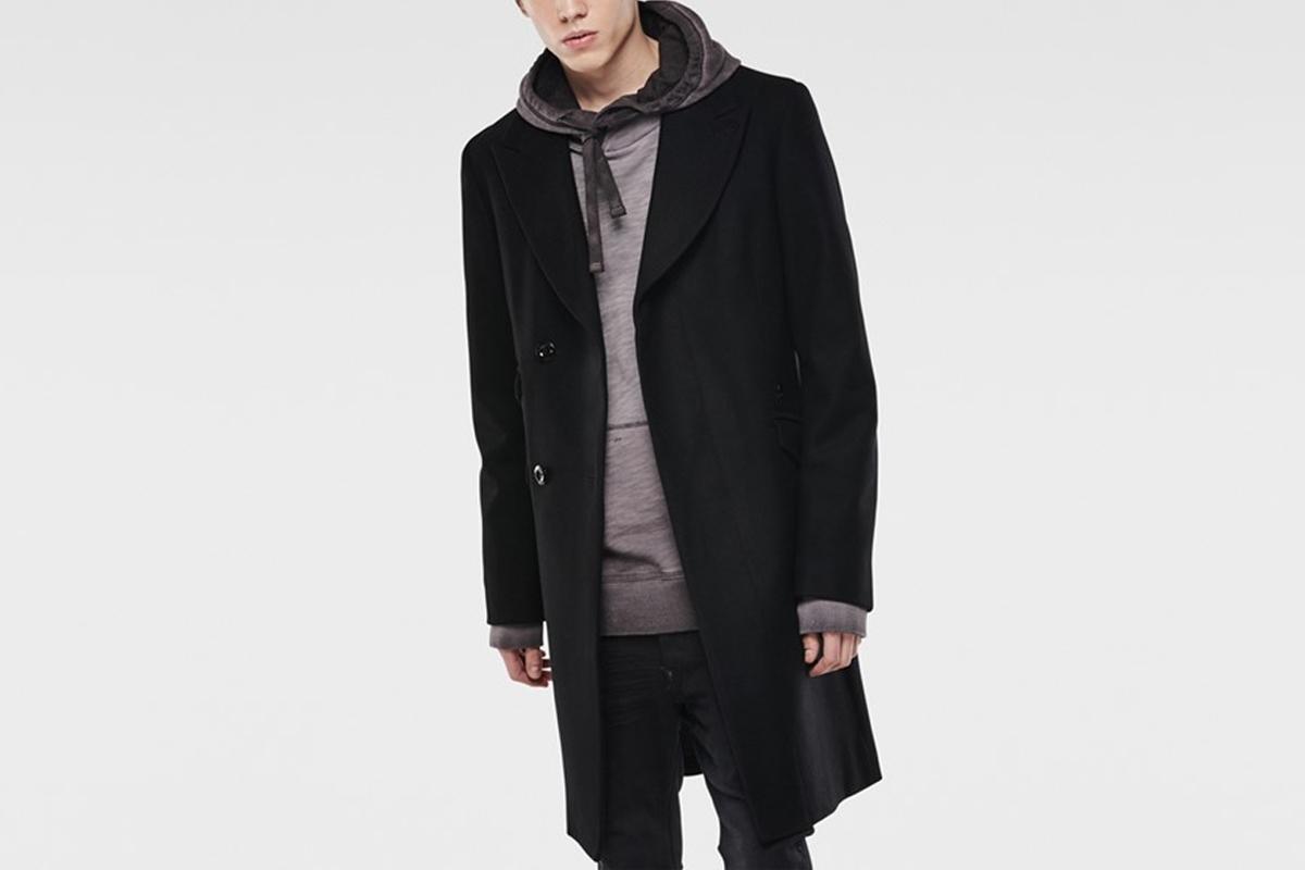 Midnight Wool Coat