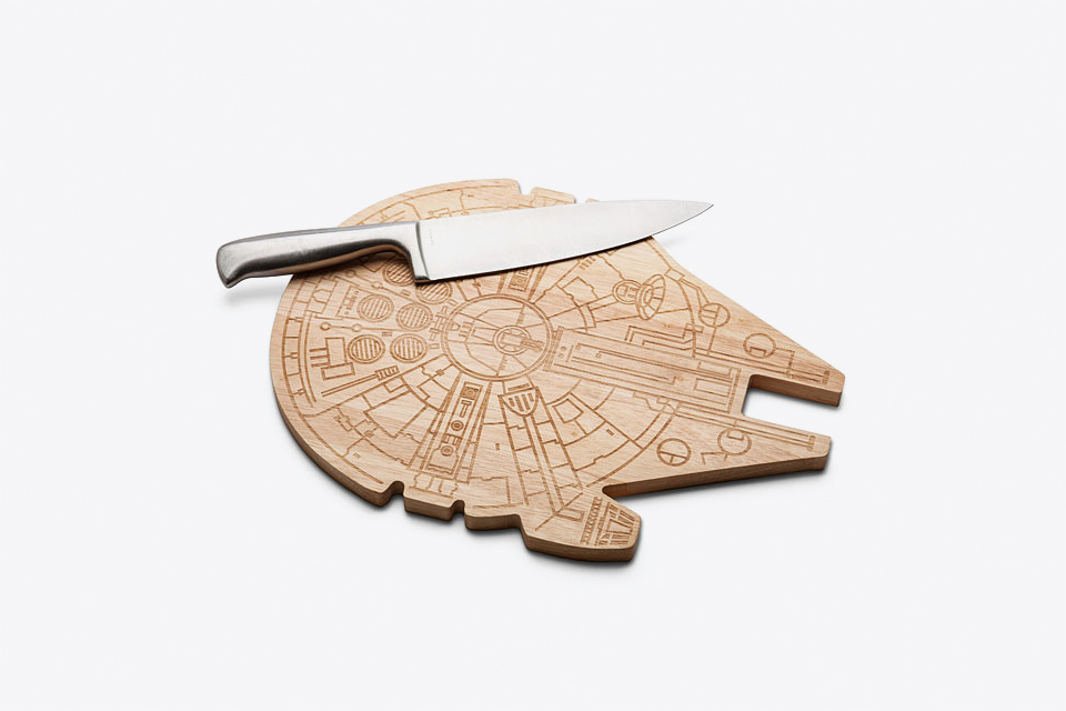 Millenium Falcon Cutting Board