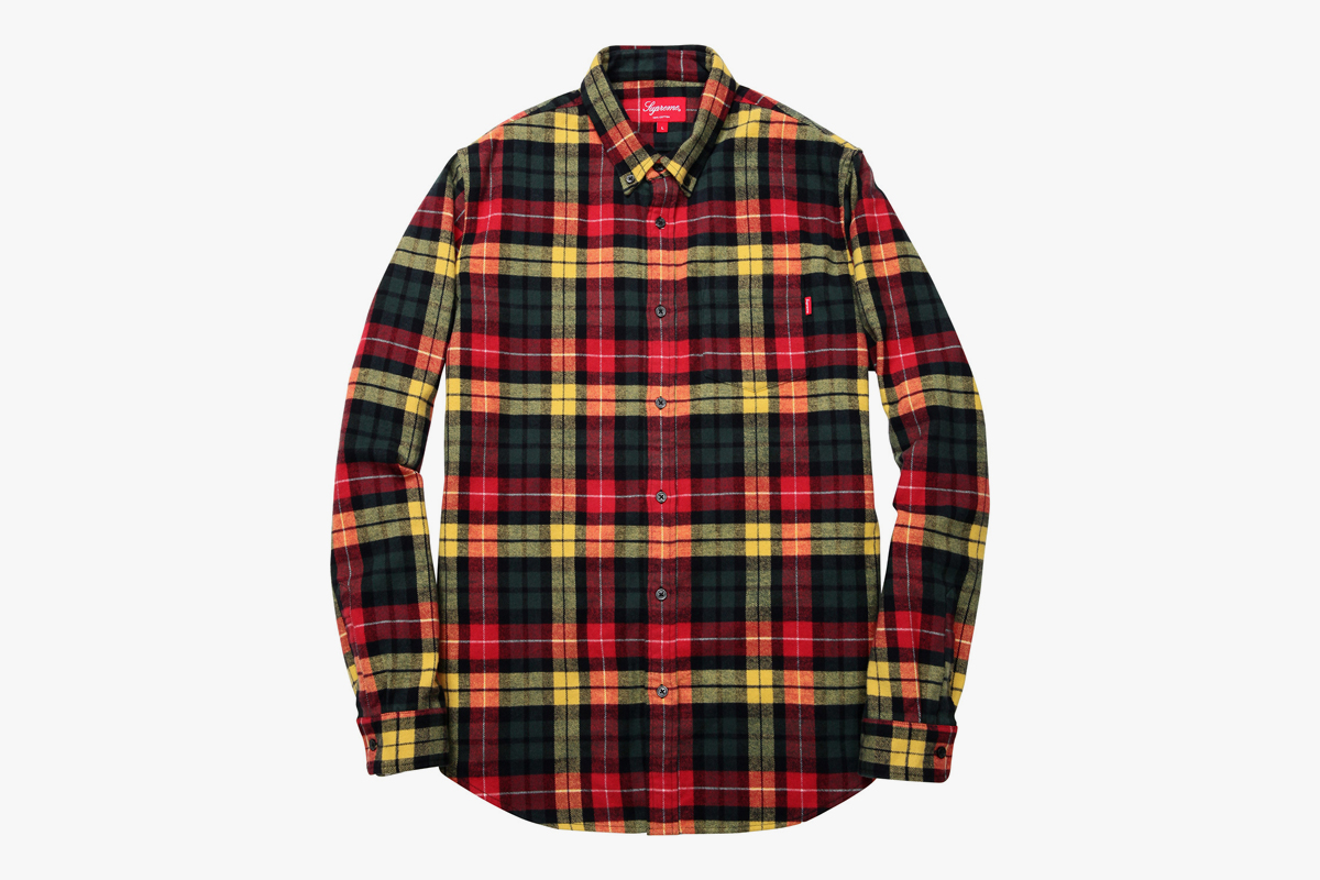 Supreme flannel shirt what drops now for Places to buy flannel shirts