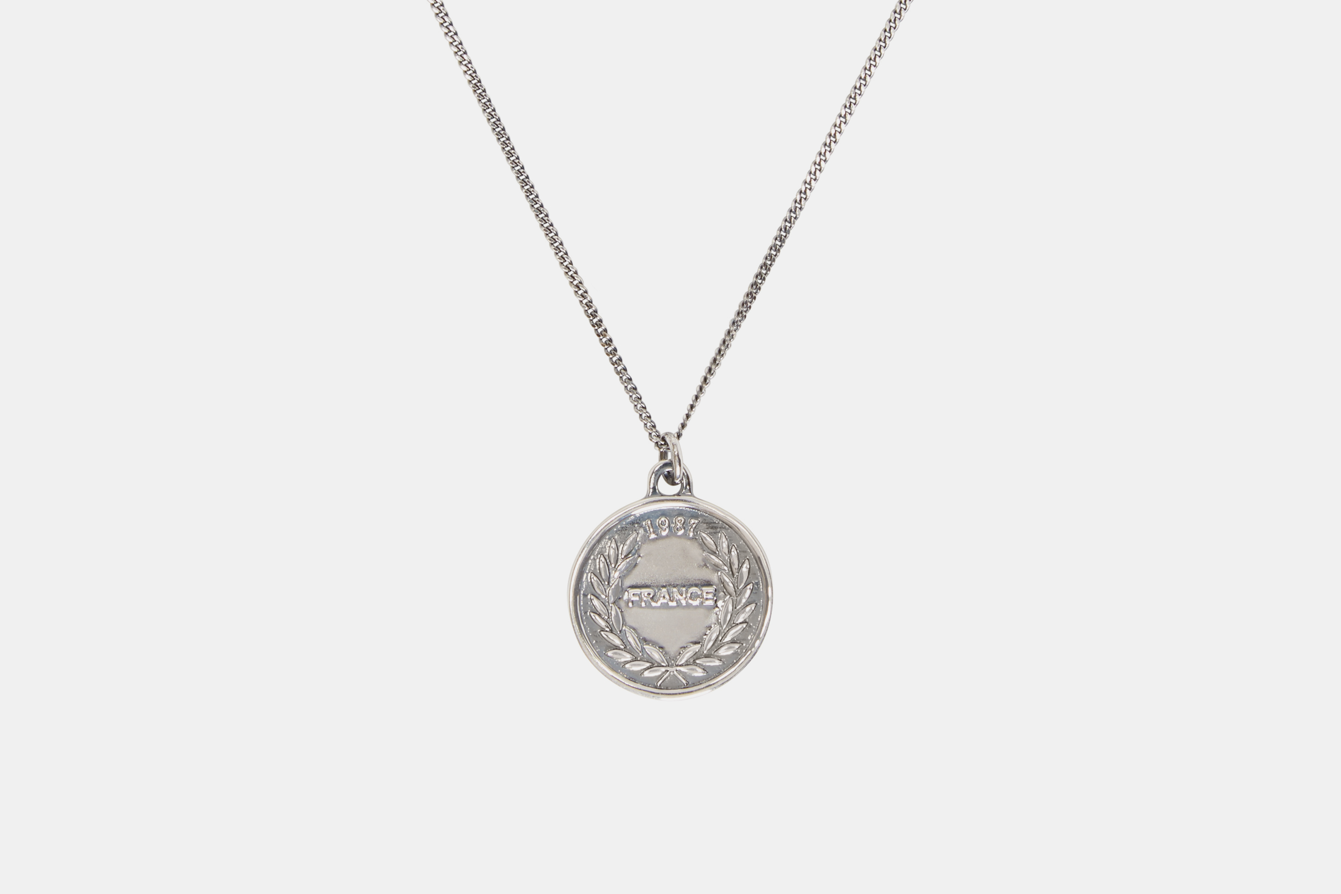 in fwrd of c a p serge apc silver necklace product image