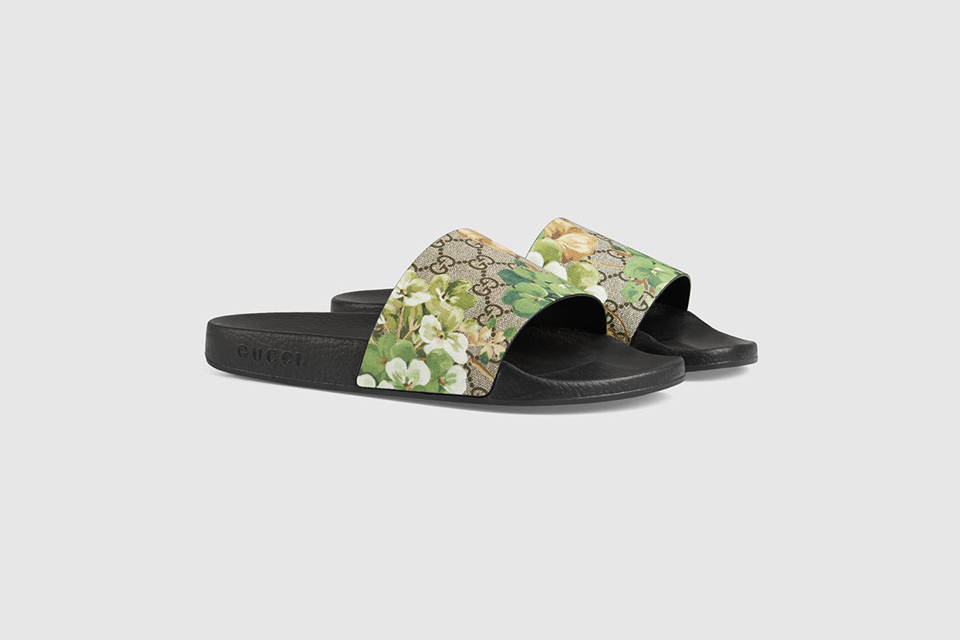 Blooms Print Sandal