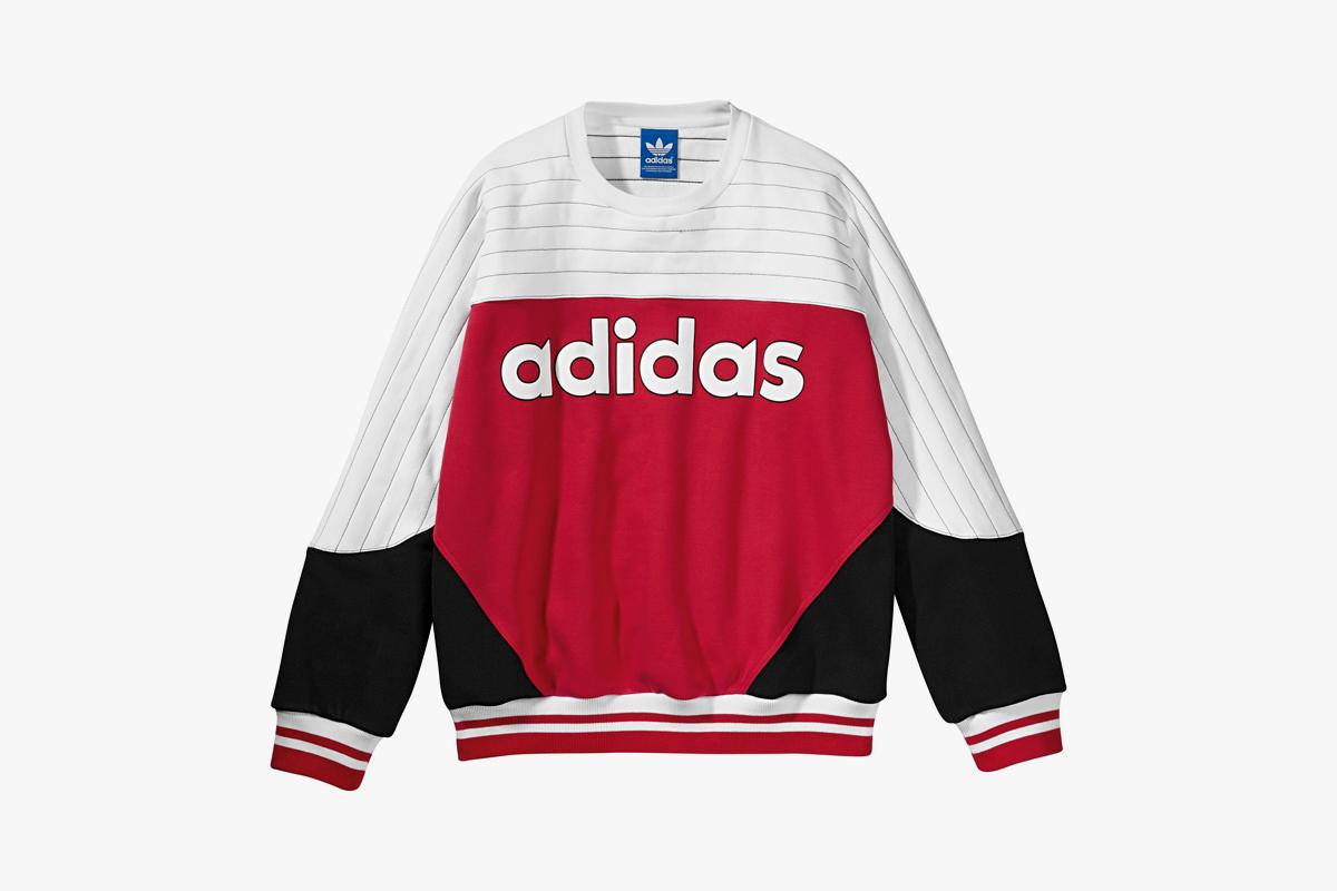 adidas sweatshirt red