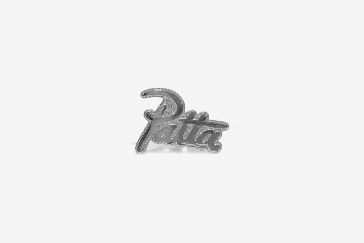 Script Logo Pin