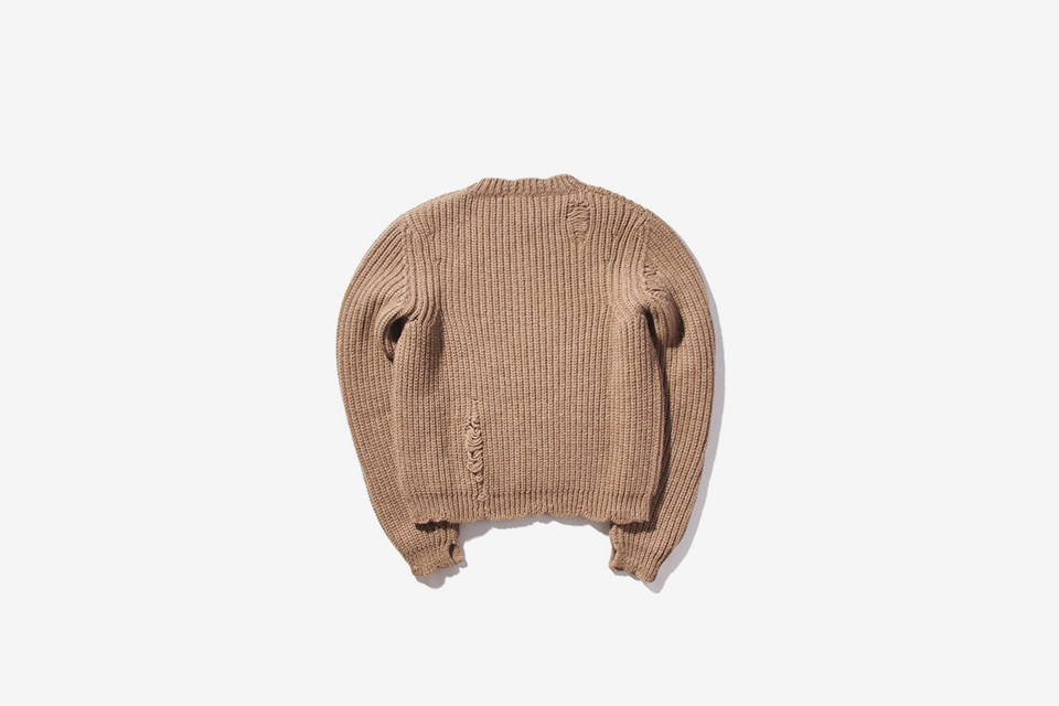 Chunky Laddered Sweater