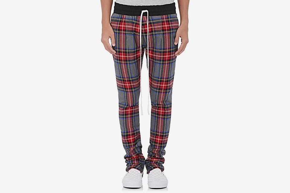 Chambray Drawstring Pants