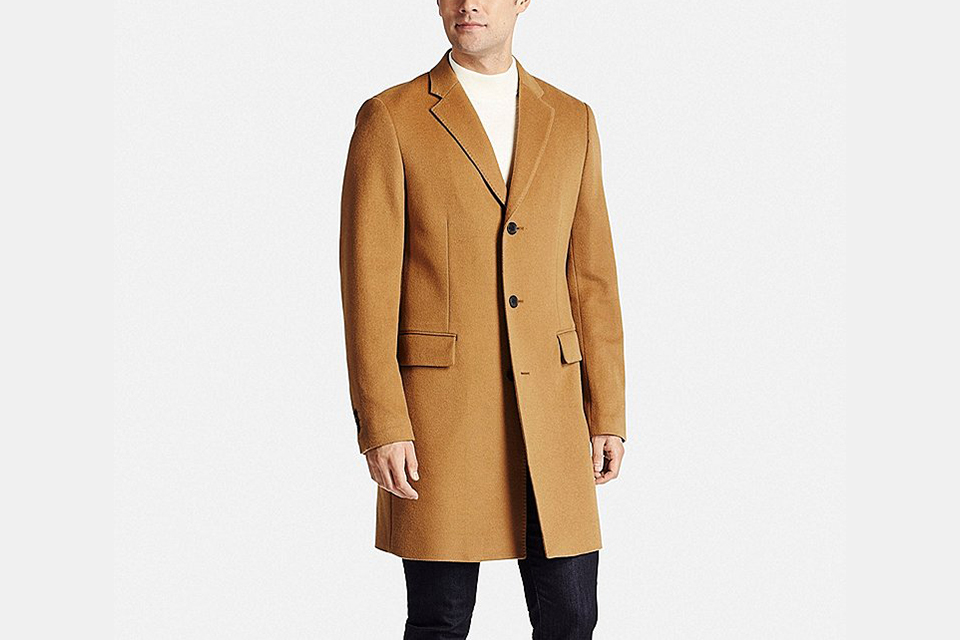 Wool Cashmere Chesterfield Coat