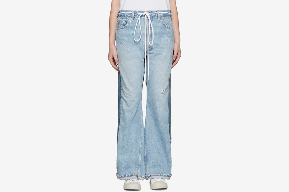 Arrow Straight Join Jeans