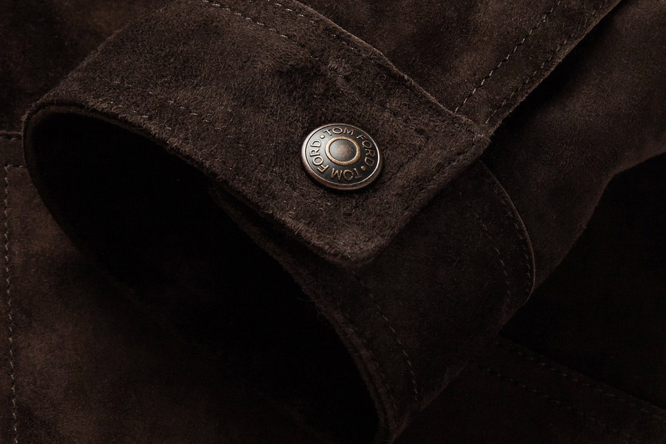 Shearling Suede Jacket
