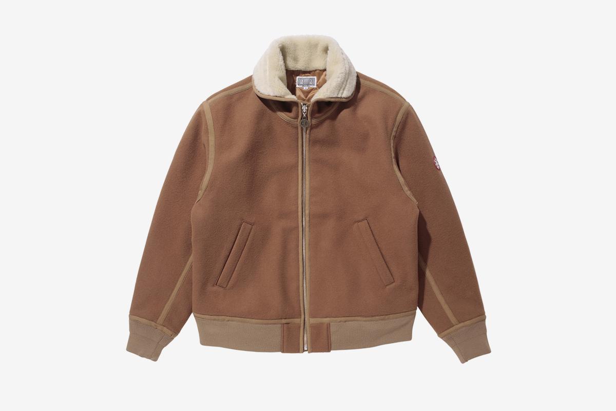 Wool Melton Jacket