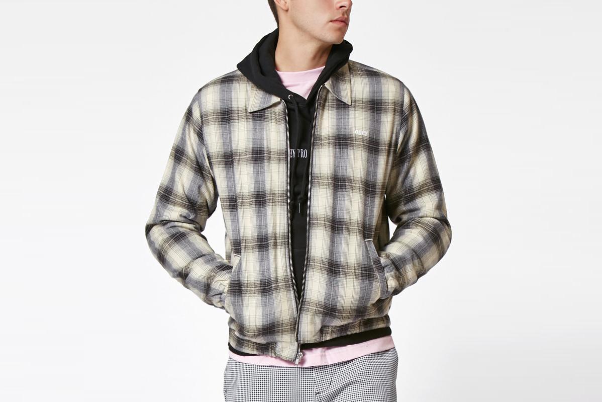 Suspended Plaid Jacket