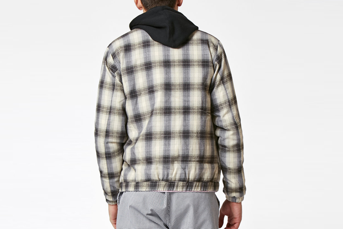 Suspended Plaid Jacket