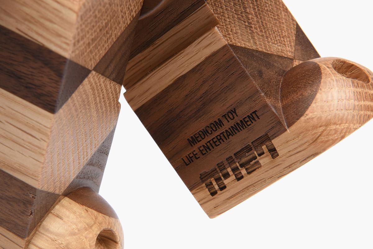 Be@rbrick 400% 'Woven Wood'