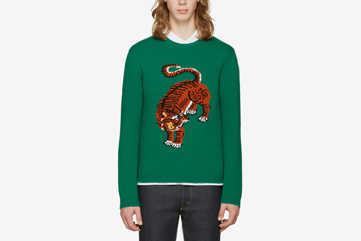 Tiger Sweater Wool