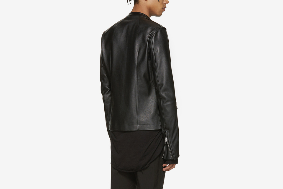 Leather Cyclop Biker Jacket