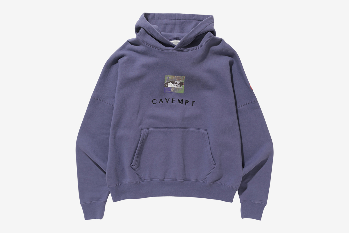 CAVEMPT Embroidery Heavy Hoodie