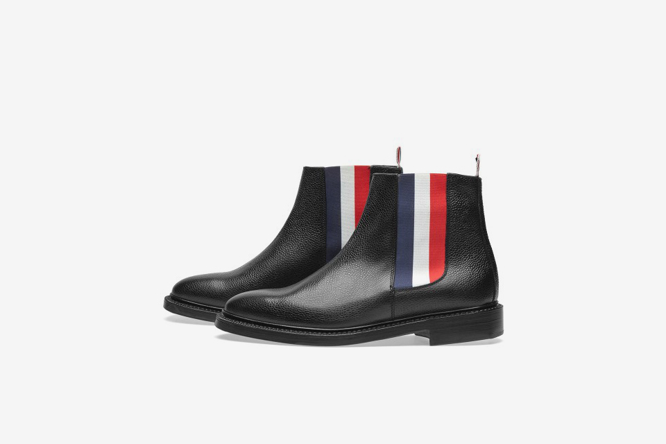 Tricolor Chelsea Boot