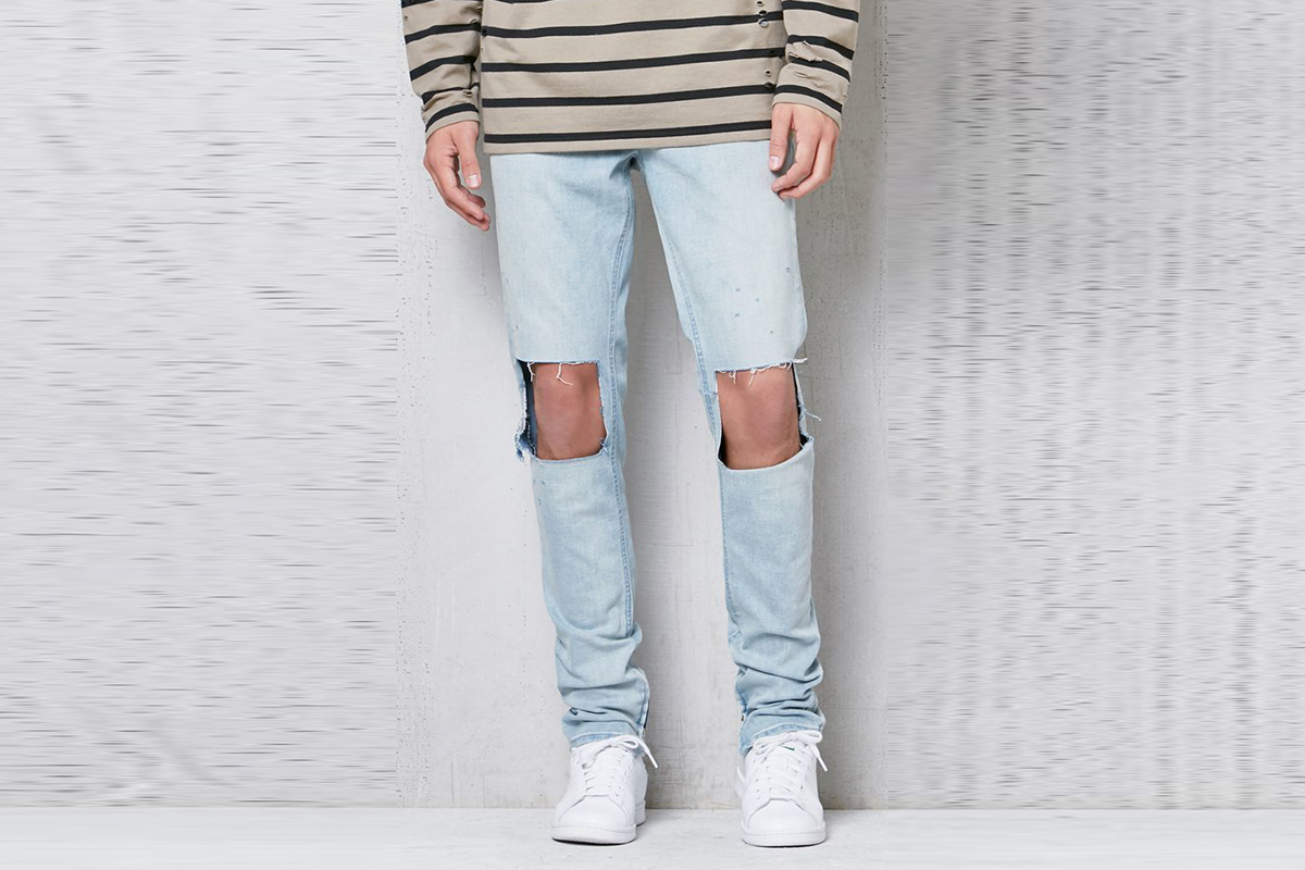 Stacked Skinny Jeans