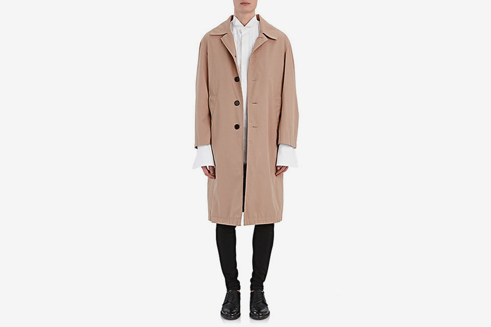 Tropical Cotton Gabardine Coat