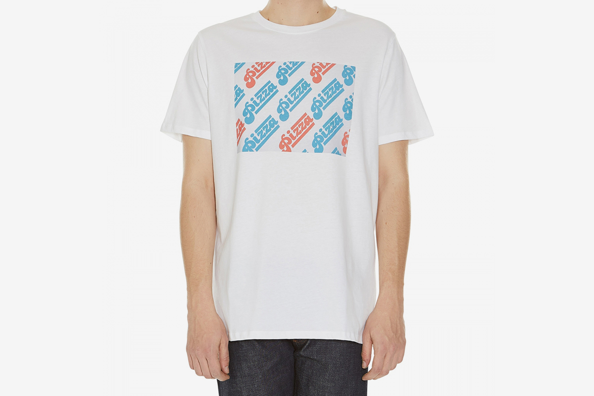 A p c pizza t shirt what drops now for Apc white t shirt