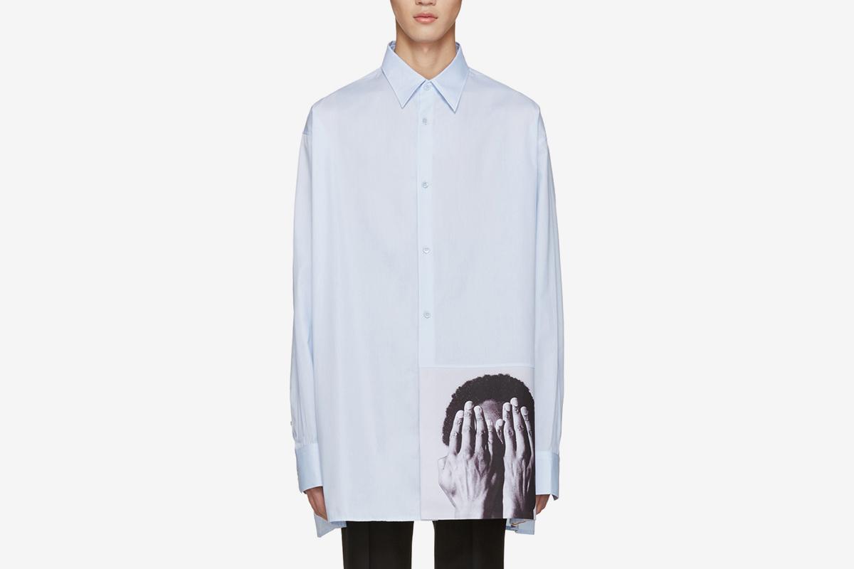 Raf Simons X Robert Mapplethorpe Alistair Oversized Shirt