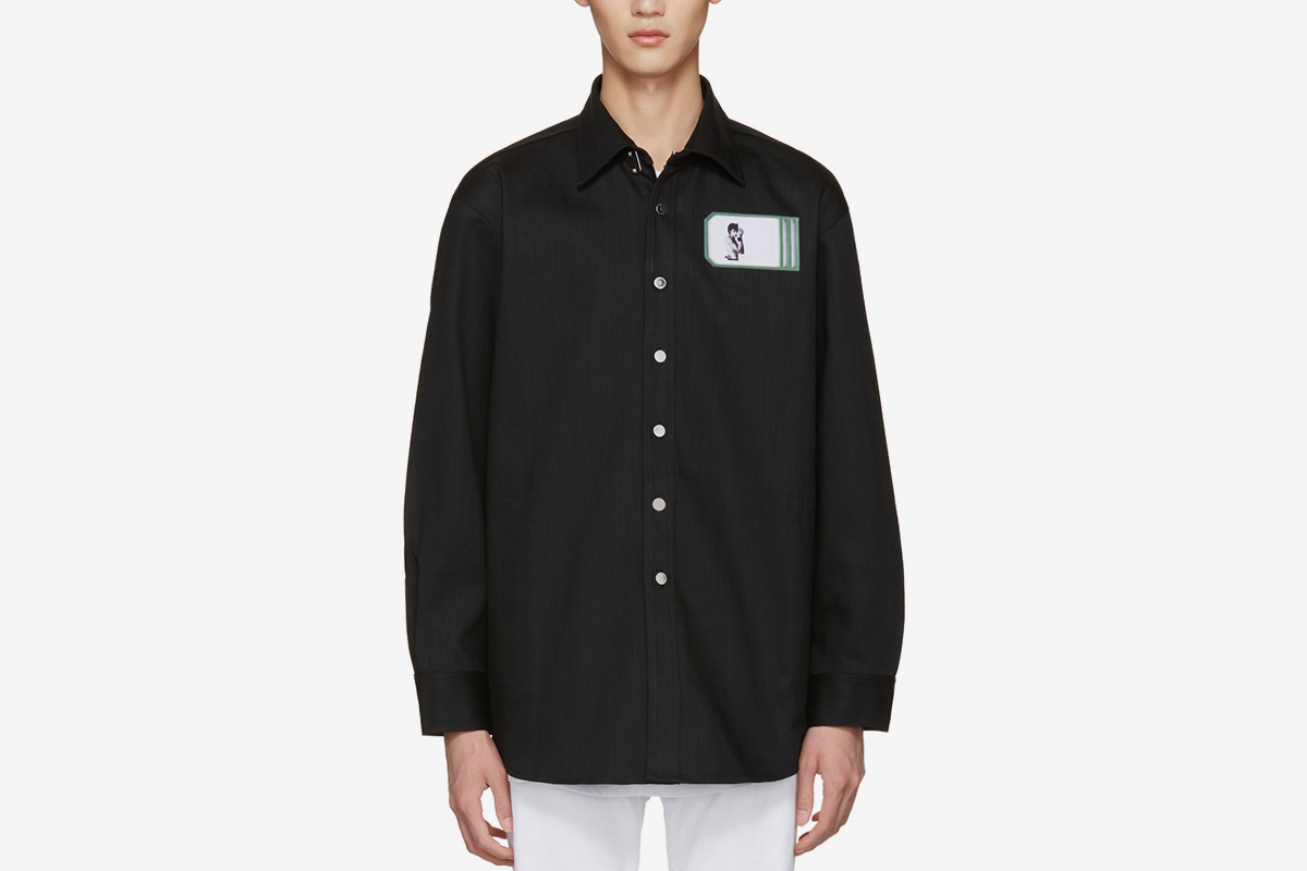 Self Portrait Oversized Shirt