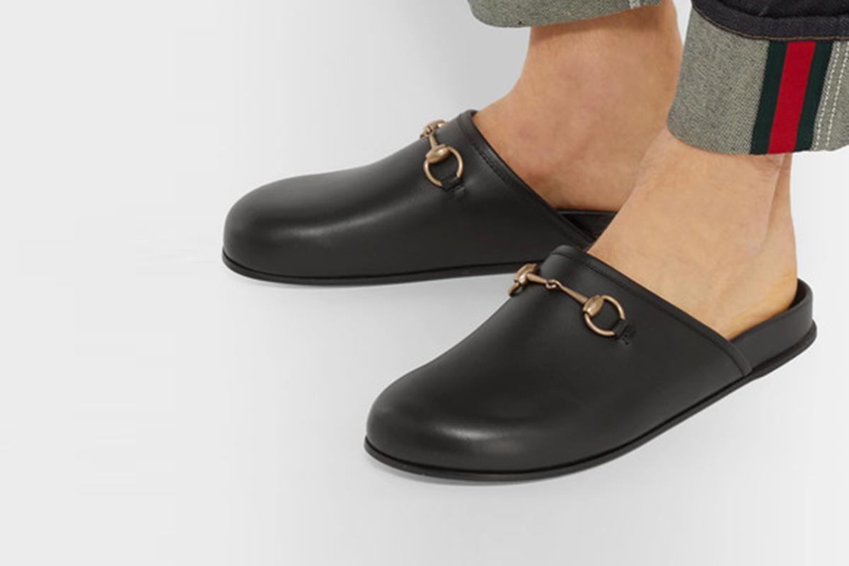 Horsebit Leather Sandals