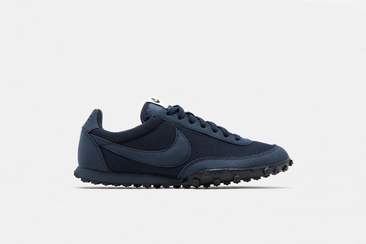 f15c32eb5ef59 COMME des GARÇONS  Black Nike Waffle Racer Is Now Available