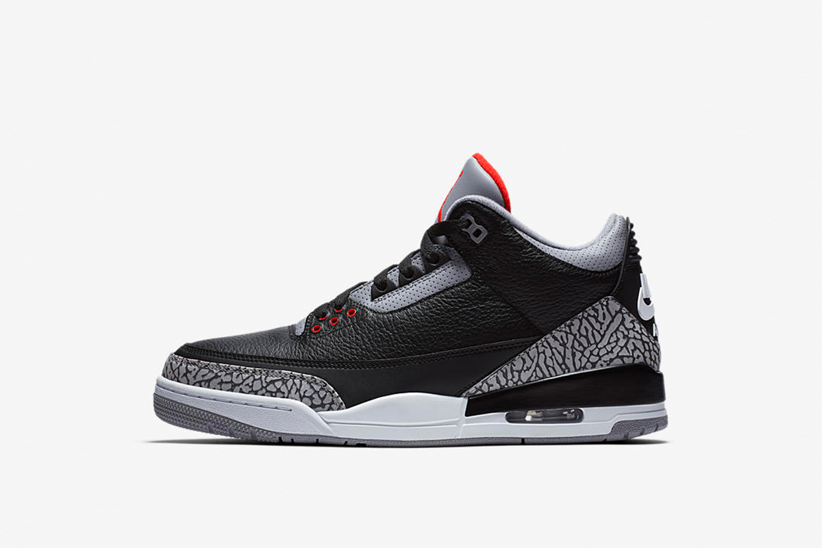 b982532d6f90 Air Jordan 3 Black Cement. Air Jordan 3 Retro