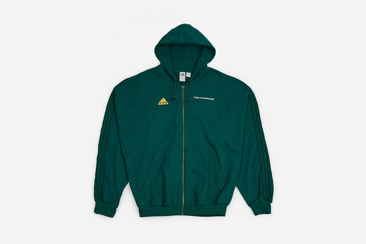 size 7 amazing selection great quality Gosha Rubchinskiy x adidas Hooded Sweatshirt