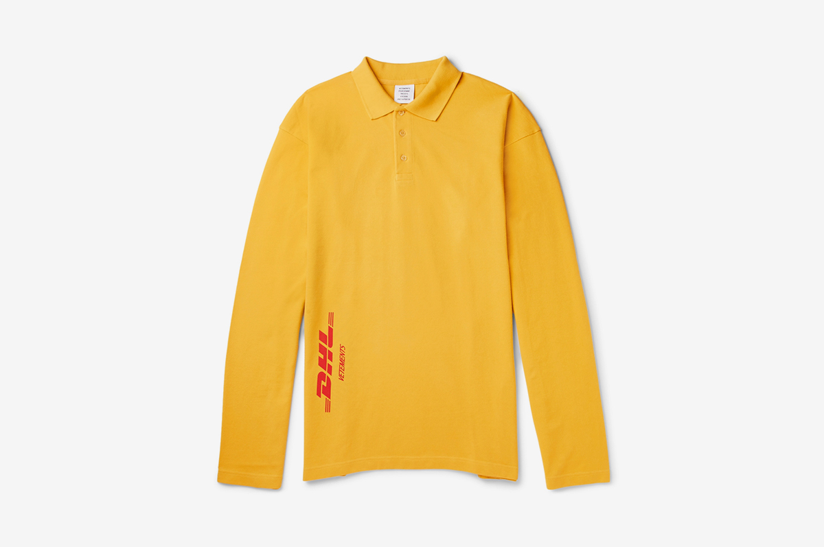 2c71a67fad74 Vetements x DHL Just Popped Up on MR PORTER