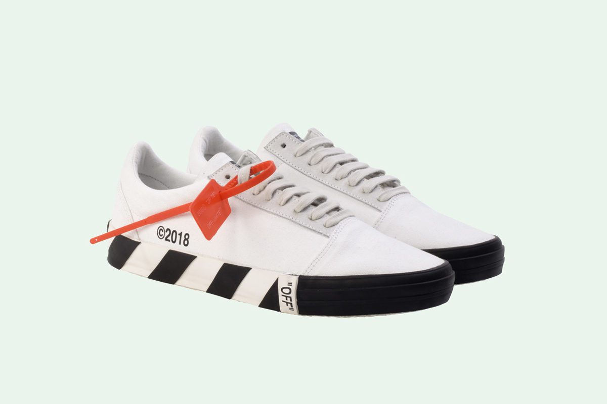 0a0e8f8745d2 These OFF-WHITE Sneakers are the Closest Thing to a Vans Collab