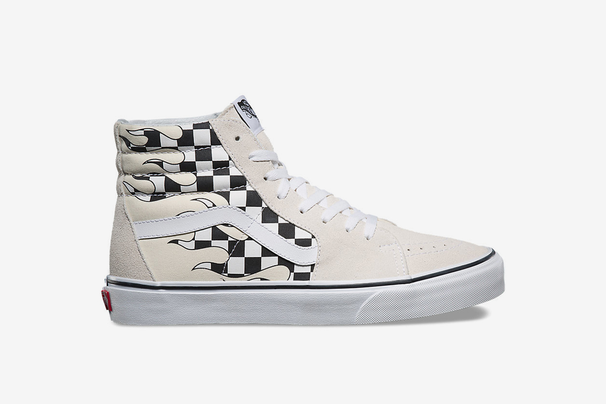 8b78c40768d03b New Vans Pack Mixes Checkerboard and Flame Patterns
