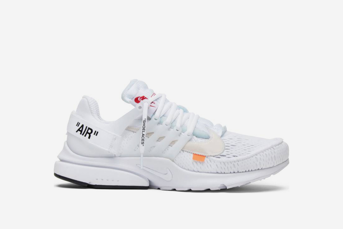 60f6dac7168 Cop the new OFF-WHITE x Nike Air Presto Sneakers at GOAT