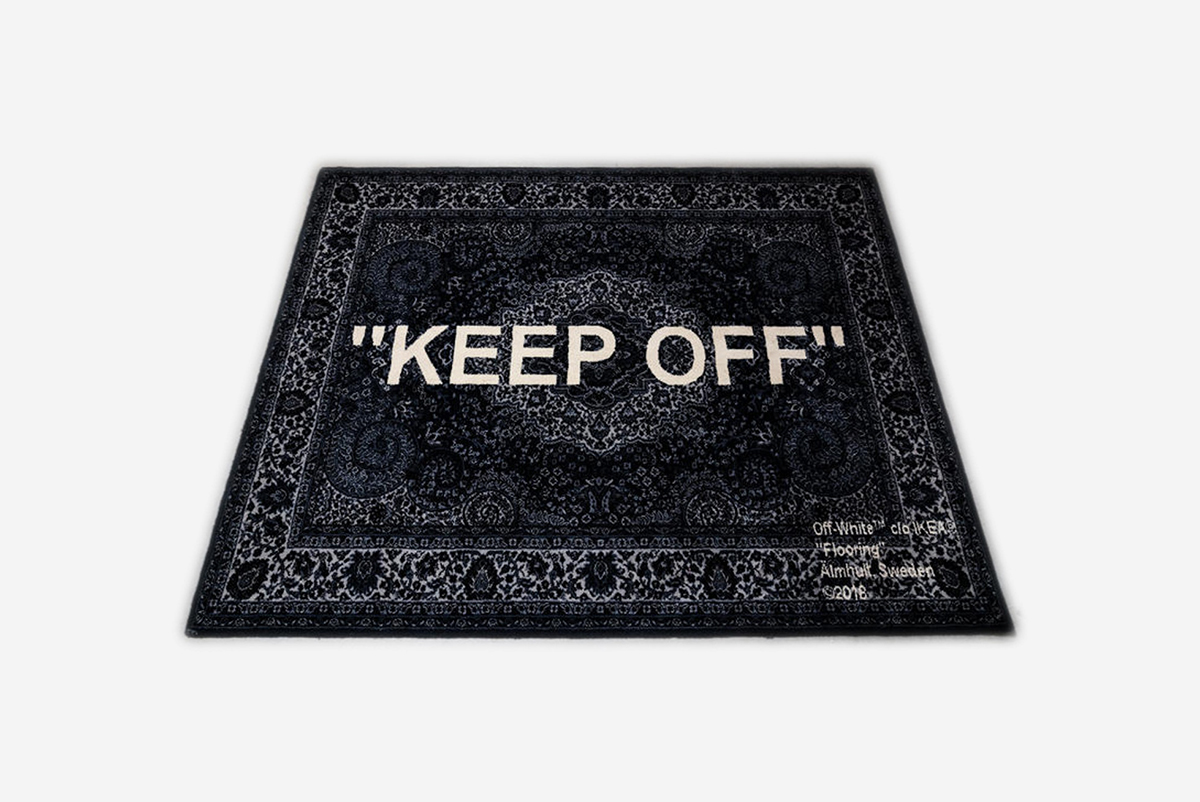Off White X Ikea Rug What Drops Now