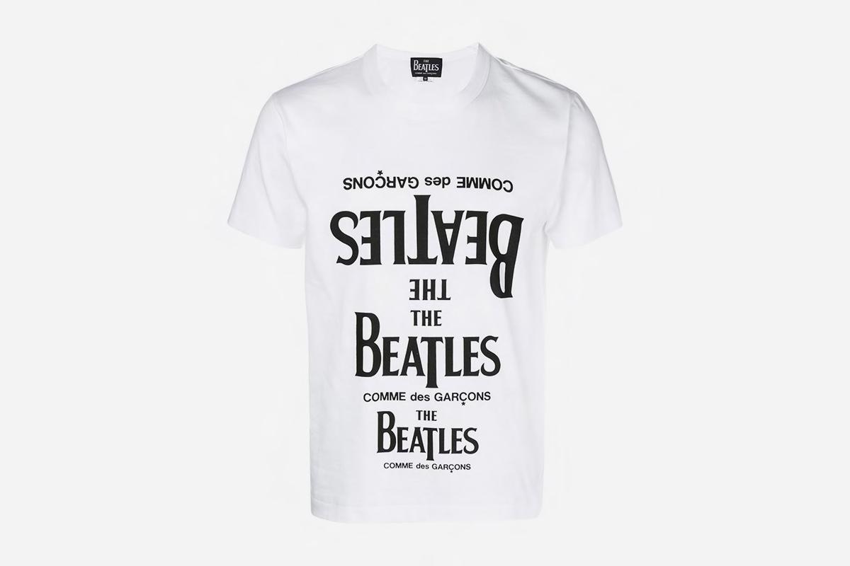 The Beatles X Comme Des Garcons T Shirt