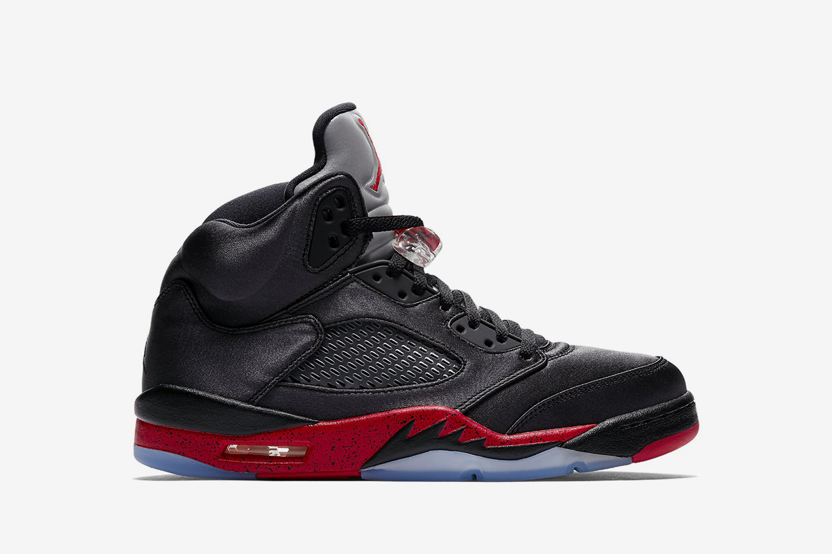 finest selection ed9e7 c7666 Be the First to Cop the Satin Air Jordan 5