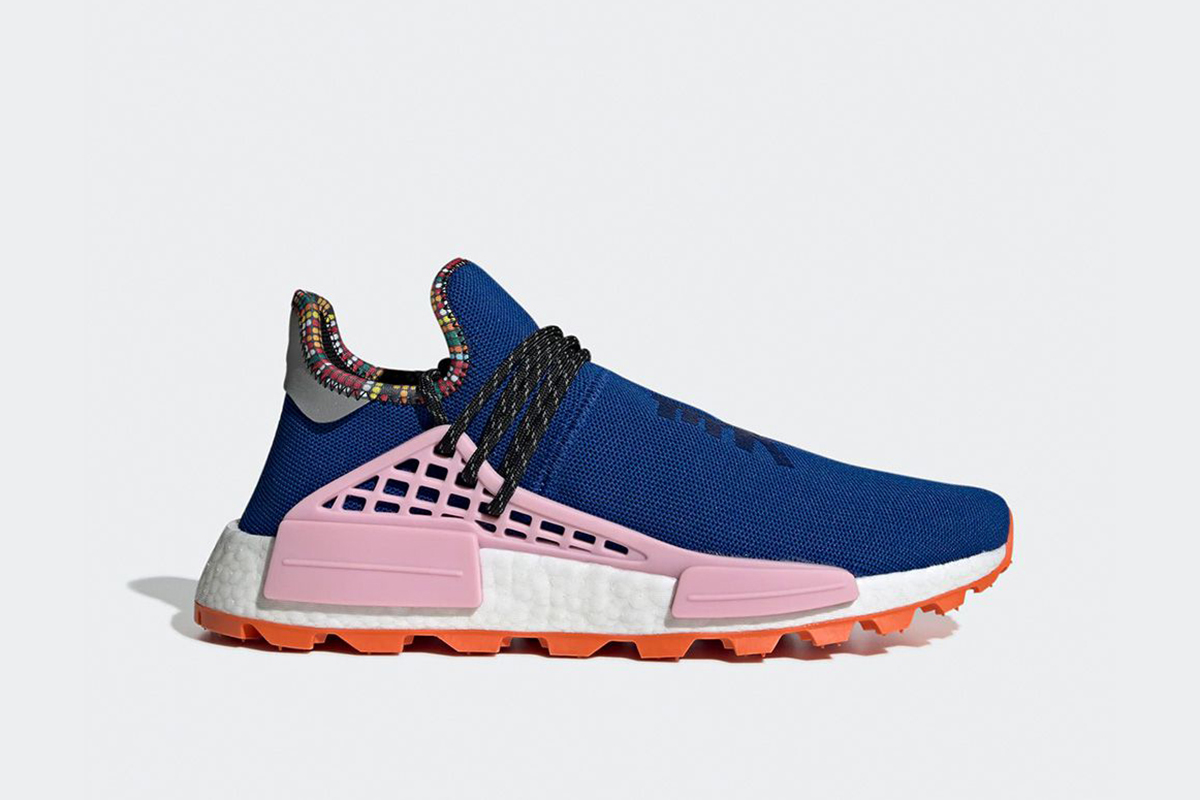 online store bb2fe eca15 Shop the Pharrell x adidas NMD Hu